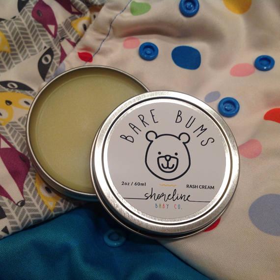 Organic Diaper Rash Cream ~ Natural Organic Mom ~ Organic Mom Gift ~ Baby Eczema Cream ~ Diaper Rash Cream ~ Baby Balm ~ Cloth Diaper Safe