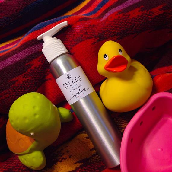 Organic Baby Wash ~ Natural Baby Wash ~ Natural Organic Mom ~ Organic Mom Gift ~ Baby Shampoo ~ Best Newborn Gifts ~ Baby Gifts 2017